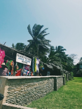 Curio Shops along the beach